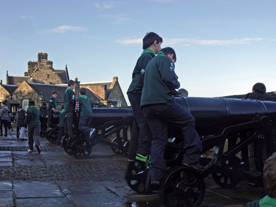 Cubs at Edinburgh Castle