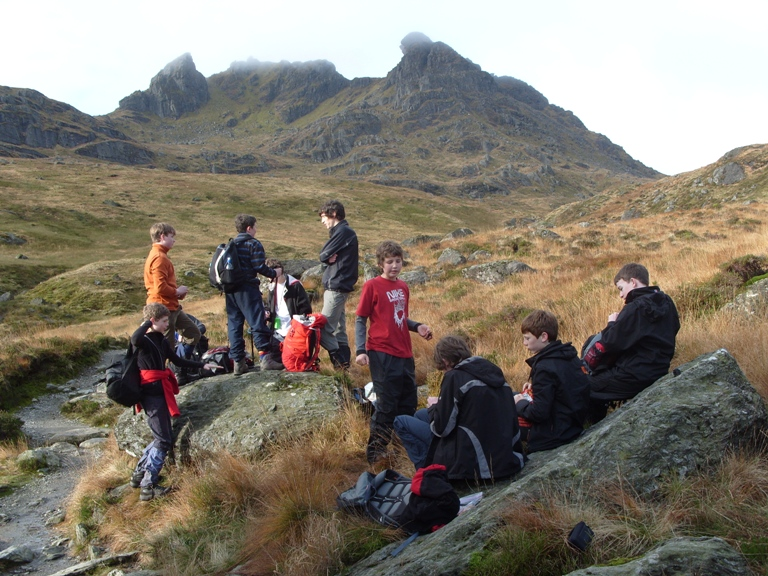 Scouts at the Cobbler