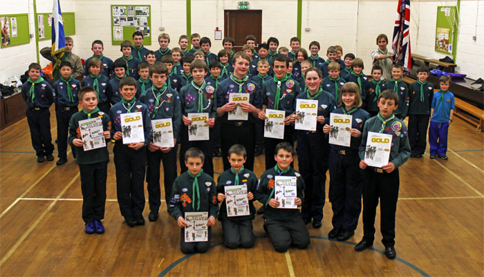 Chief Scout Gold and Silver Presentation